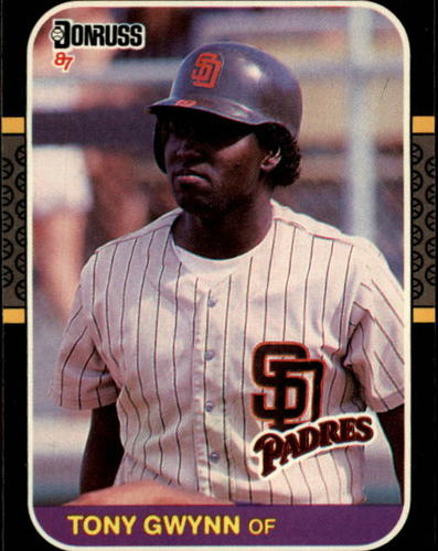 Photo of 1987 Donruss #64 Tony Gwynn