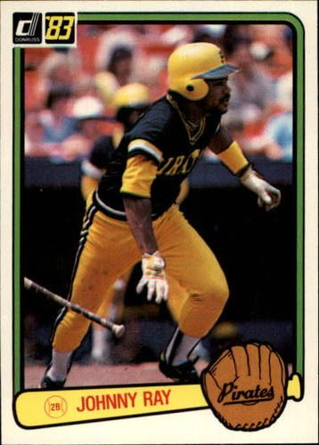 Photo of 1983 Donruss #437 Johnny Ray
