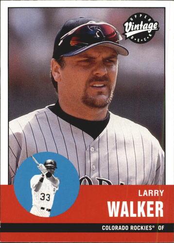 Photo of 2001 Upper Deck Vintage #333 Larry Walker