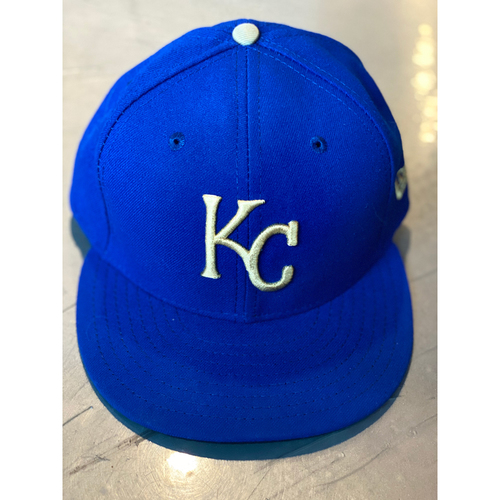 Photo of Team-Issued Cap: Salvador Perez (Size 7 5/8)