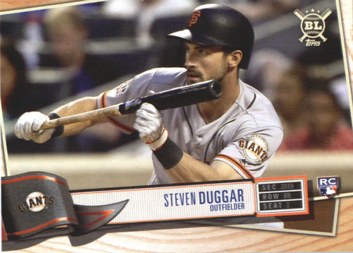 Photo of 2019 Topps Big League #55 Steven Duggar RC