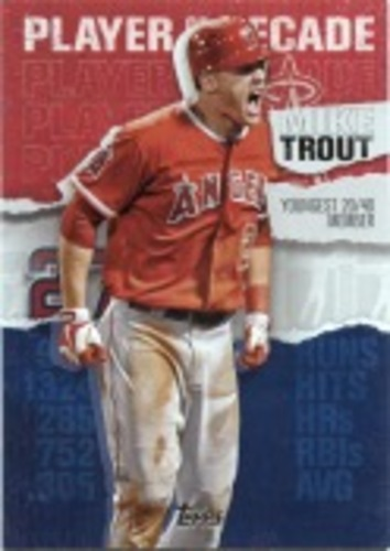 Photo of 2020 Topps Player of the Decade Mike Trout #MT7 Mike Trout