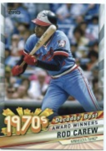Photo of 2020 Topps Decades' Best Series 2 #DB36 Rod Carew