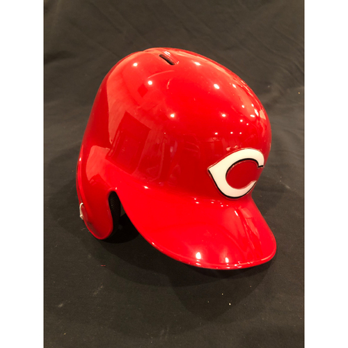 "Photo of Reds Commemorative ""No. 13"" Retired Number Helmet -- (Not MLB Authenticated, COA Included) -- Helmet Scheduled to Arrive Prior to Dec 24"