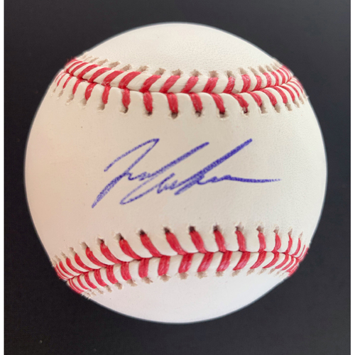 Photo of Ian Anderson MLB Authenticated Autographed Baseball