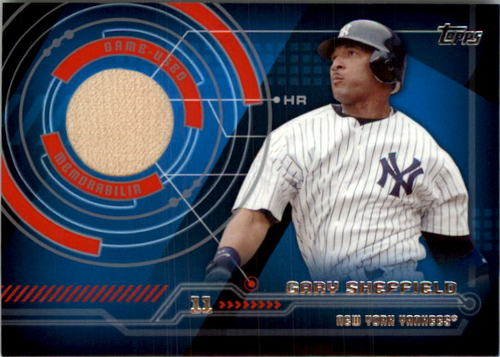 Photo of 2014 Topps Trajectory Relics #TRGS Gary Sheffield