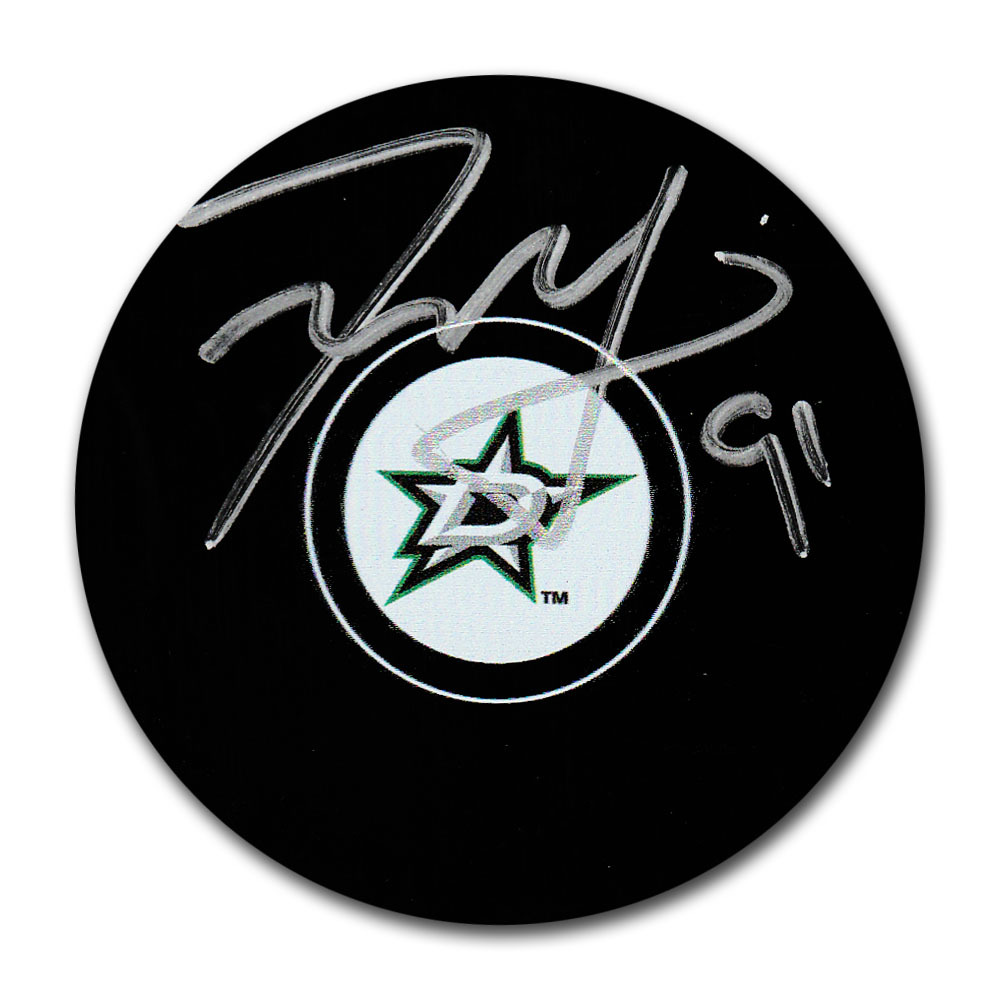 Tyler Seguin Autographed Dallas Stars Puck