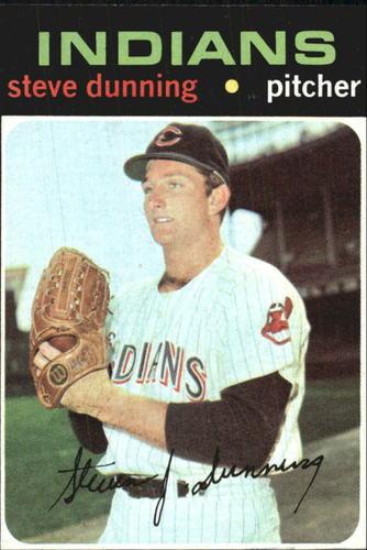 Photo of 1971 Topps #294 Steve Dunning RC