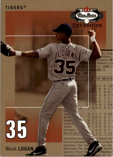 Photo of 2003 Fleer Box Score First Edition #122 Nook Logan ROO