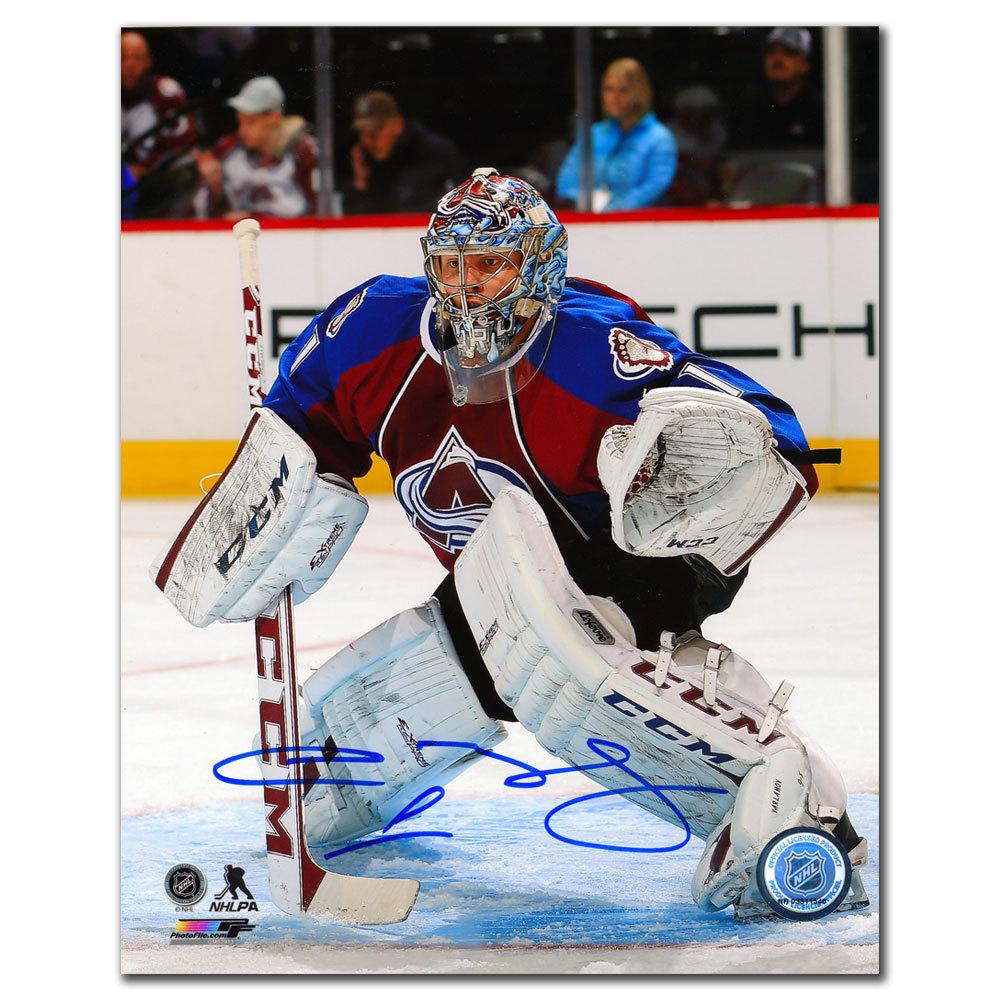 Semyon Varlamov Colorado Avalanche Autographed 8x10