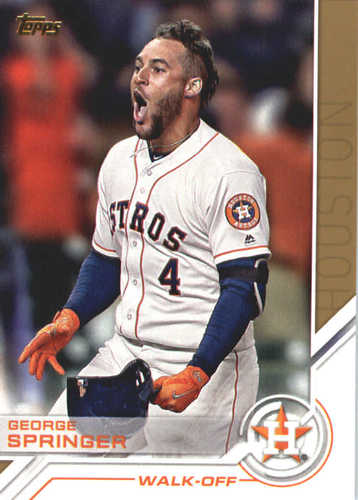 Photo of 2017 Topps Update Salute #USS17 George Springer