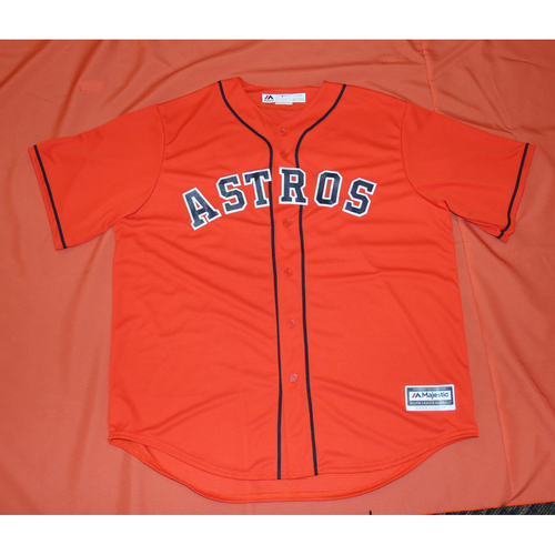 Photo of Autographed Alex Bregman Astros Jersey - Not MLB Authenticated