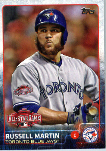 Photo of 2015 Topps Update #US295 Russell Martin
