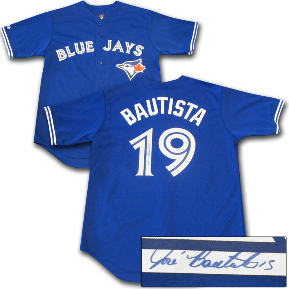 Jose Bautista Autographed Toronto Blue Jays Jersey