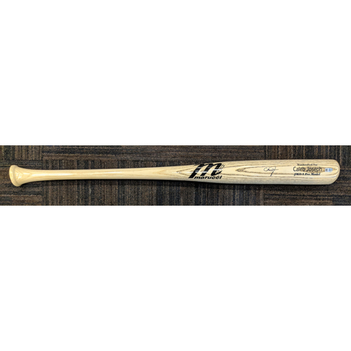 Caleb Joseph - Player Model Bat: Autographed
