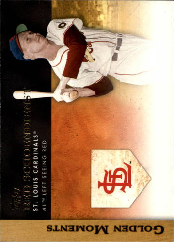 Photo of 2012 Topps Golden Moments #GM6 Red Schoendienst