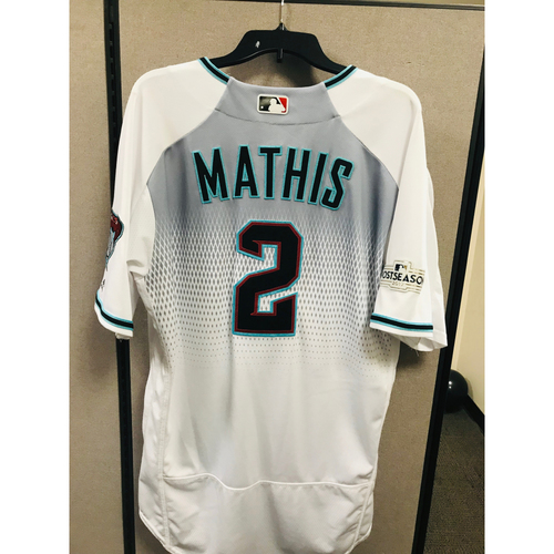 Photo of 2017 NL Wild Card Game: Game-Used Jeff Mathis Jersey