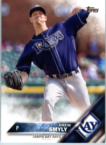 Photo of 2016 Topps #482 Drew Smyly