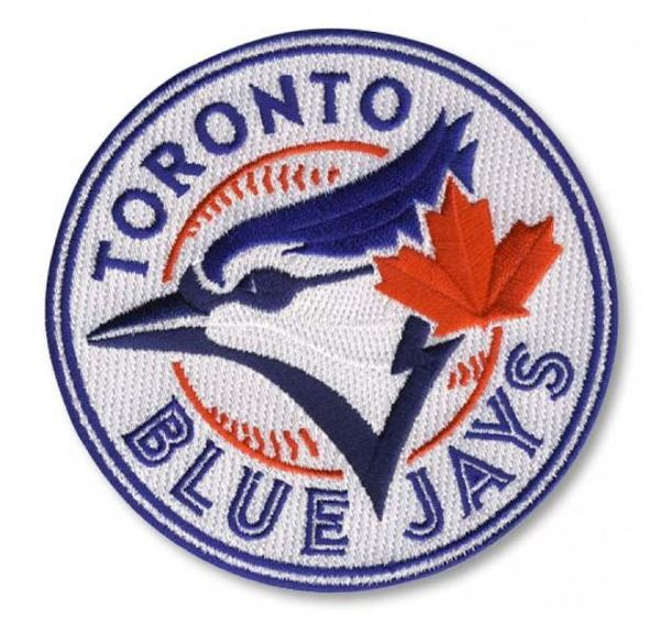 Toronto Blue Jays Authentic Logo Patch by The Emblem Source