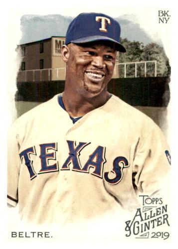 Photo of 2019 Topps Allen and Ginter #89 Adrian Beltre