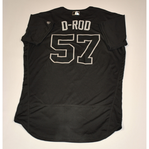 "Photo of Dereck ""D-ROD"" Rodriguez San Francisco Giants Game-Used 2019 Players' Weekend Jersey"
