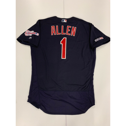 Greg Allen 2019 Team Issued Alternate Road Jersey