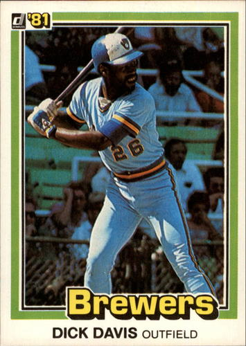 Photo of 1981 Donruss #528 Dick Davis