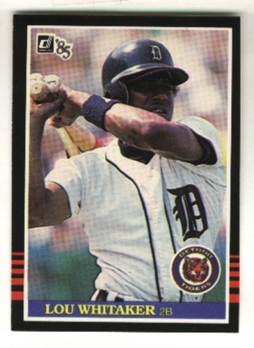Photo of 1985 Donruss #293 Lou Whitaker