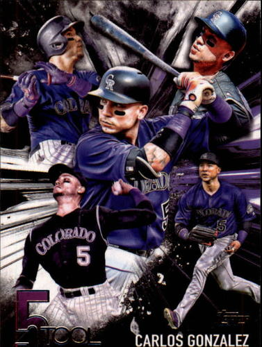 Photo of 2017 Topps Five Tool #5T25 Carlos Gonzalez