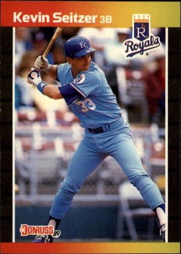 Photo of 1989 Donruss #238 Kevin Seitzer