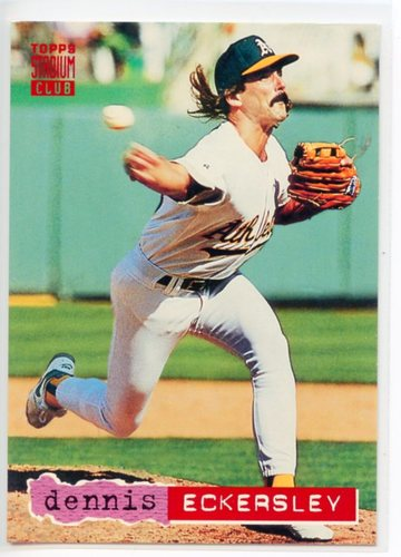Photo of 1994 Stadium Club Pre-Production #125 Dennis Eckersley