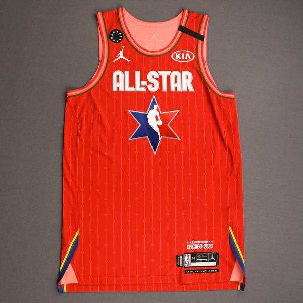 Image of Kyle Lowry - 2020 NBA All-Star - Team Giannis - Autographed Jersey