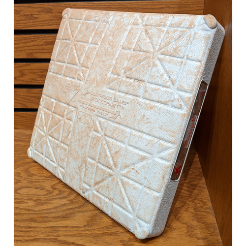 Photo of Boston Red Sox vs. Los Angeles Angels August 11, 2019 Game Used 1st Base