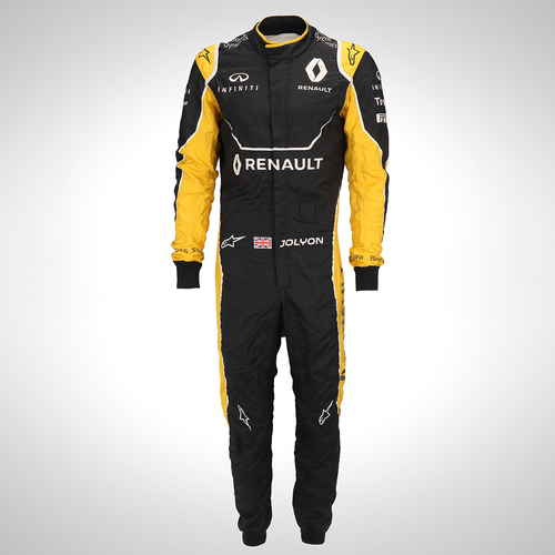 Photo of Jolyon Palmer 2016 Replica Race Suit