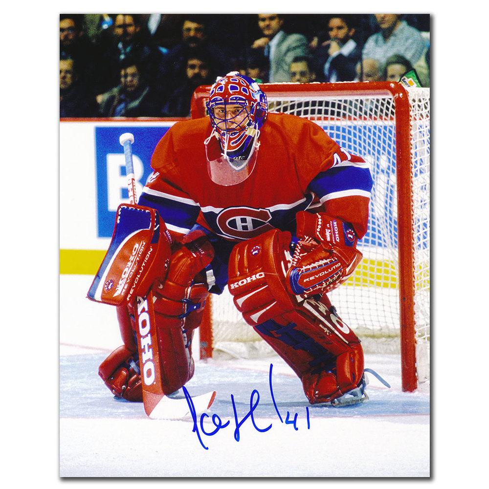 Jocelyn Thibault Montreal Canadiens Autographed 8x10