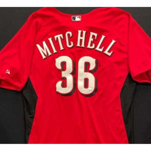 Photo of MITCHELL -- Authentic Reds Jersey -- $1 Jersey Auction -- $5 Shipping -- Size 46 (Not MLB Authenticated)