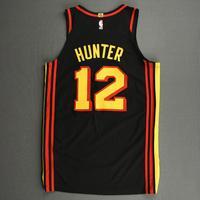 De'Andre Hunter - Atlanta Hawks - Kia NBA Tip-Off 2020 - Game-Worn Statement Edition Jersey