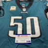 STS - Eagles Duke Riley Game Used Jersey (11/1/20) Size 42 w/ Captains Patch