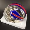 NFL - Bills Jim Kelly Signed Chrome Mini Helmet