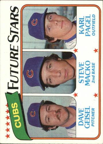 Photo of 1980 Topps #676 Dave Geisel/Steve Macko RC/Karl Pagel