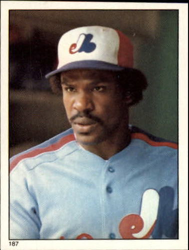 Photo of 1981 Topps Stickers #187 Andre Dawson