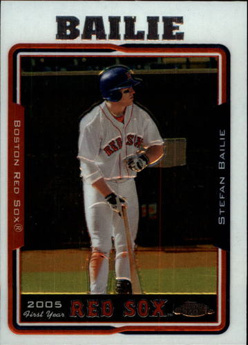 Photo of 2005 Topps Chrome Update #157 Stefan Bailie FY RC