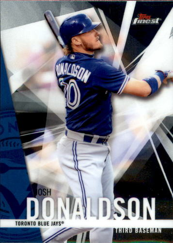 Photo of 2017 Finest #44 Josh Donaldson