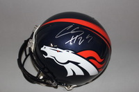 NFL - BRONCOS CHRIS HARRIS JR. SIGNED BRONCOS PROLINE HELMET
