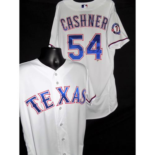 Photo of 2017 Andrew Cashner White Game-Used Pudge Patch Jersey