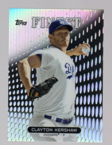 Photo of 2013 Finest Refractors #10 Clayton Kershaw