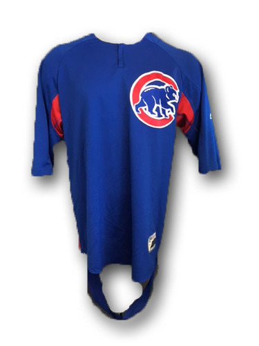Photo of Javier Baez Team-Issued Batting Practice Top -- Large -- 2018 Season