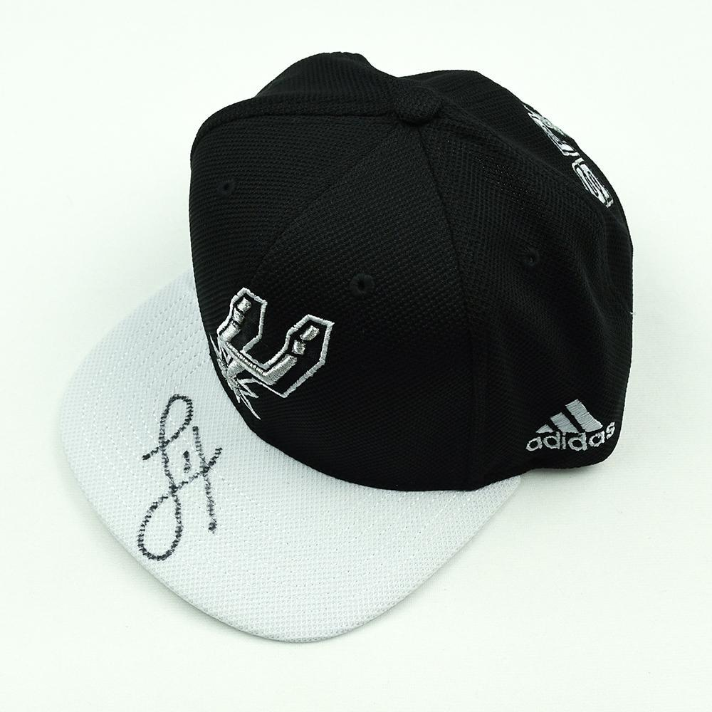 Lonnie Walker IV - San Antonio Spurs - 2018 NBA Draft Class - Autographed Hat