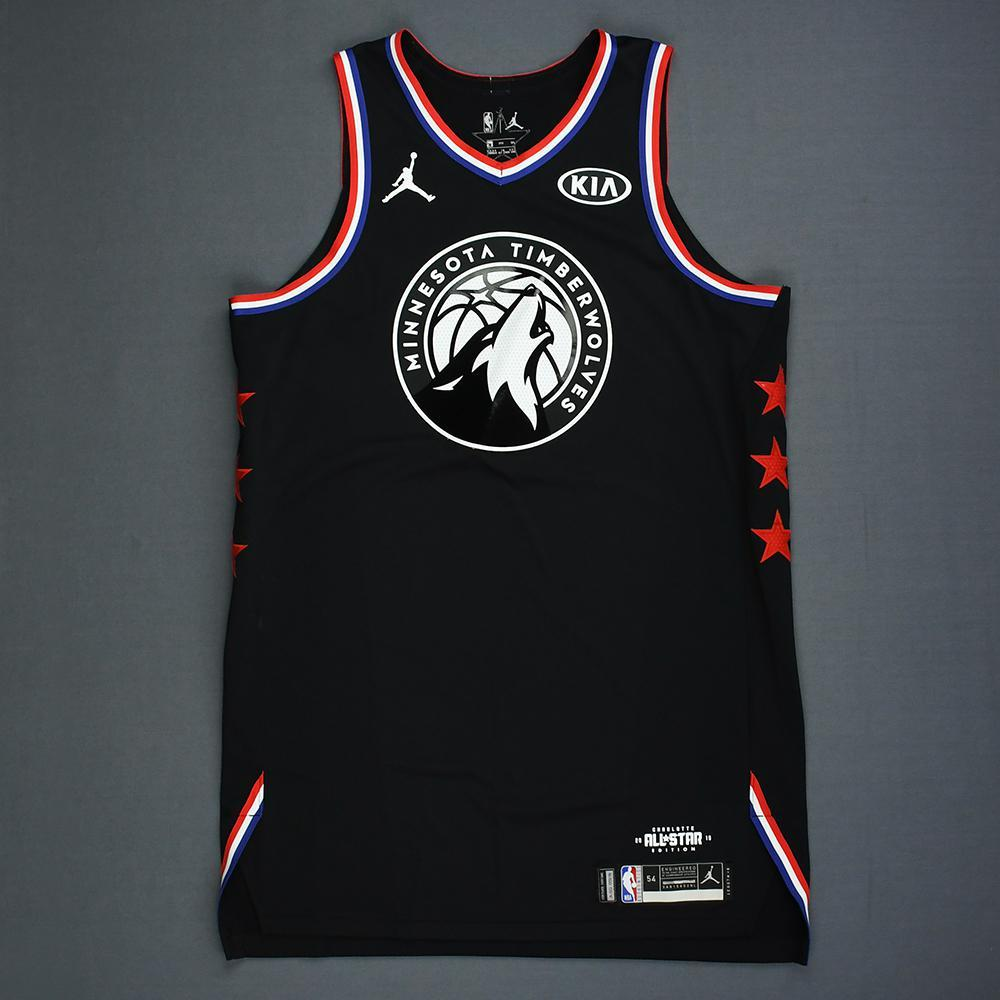 buy online fd207 c858e Karl-Anthony Towns - 2019 NBA All-Star Game - Team LeBron ...
