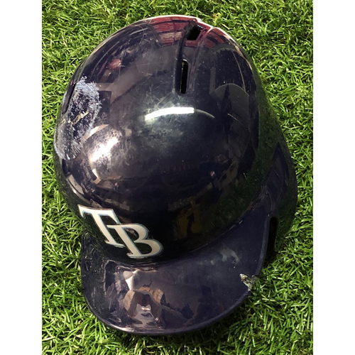 Photo of 2019 Game Used Helmet (size 7 1/2): Yandy Diaz HOME RUN - April 17, 2019 v BAL